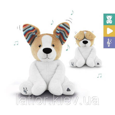 Интерактивная мягкая игрушка с хлопающими ушами и пением Zazu Дэнни PEEK-A-BOO, фото 2