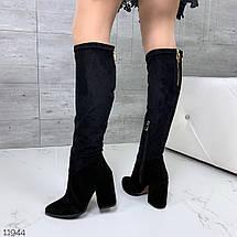 Женские сапоги на каблуке, фото 3