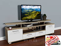 Тумба/подставка под телевизор Display-2 сонома/белый