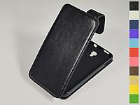 Откидной чехол из натуральной кожи для Alcatel 8008D OneTouch Scribe HD