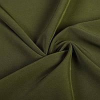 Креп костюмный бистрейч болотный ш.150 (10301.036)