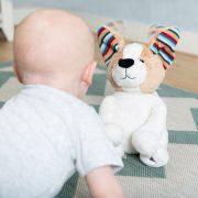 Интерактивная мягкая игрушка с хлопающими ушами и пением Zazu Дэнни PEEK-A-BOO, фото 3