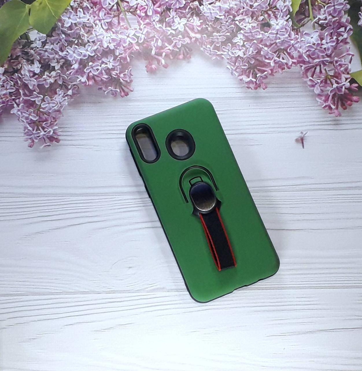 Чехол накладка Golf с подставкой на Samsung M20 (2019), Green