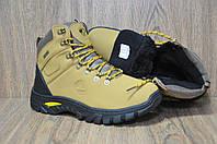 Зимние мужские желтые ботинки в стиле Timberland
