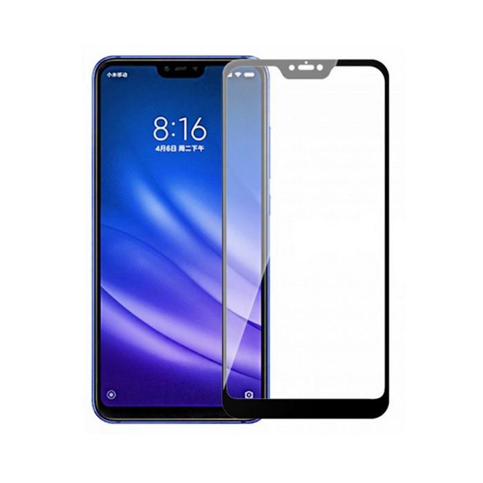 Защитное стекло Full Cover Glass (на весь экран) для Xiaomi Mi 8 Lite / Mi 8X