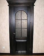 Межкомнатные деревянные двери со стеклом. Под заказ.