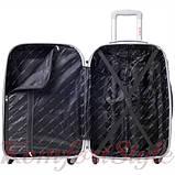 Комплект чемодан  Bonro Smile (небольшой) и кейс (средний), красный (10130207), фото 4