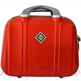 Комплект чемодан  Bonro Smile (небольшой) и кейс (средний), красный (10130207), фото 5