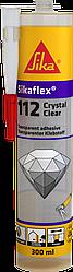 Клей-герметик Sika Sikaflex 112 Crystal Clear 290 мл прозорий