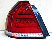 Задние Chevrolet Aveo T250 седан 2006-2011 / Led VW стиль LL альтернативная тюнинг оптика фары тюнинг-оптика задние Chevrolet Aveo Шевроле Авео