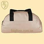Сумка женская спортивная дорожная BagFon's 16л из искусственной кожи розовая (DS009), фото 4