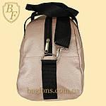 Сумка женская спортивная дорожная BagFon's 16л из искусственной кожи розовая (DS009), фото 6
