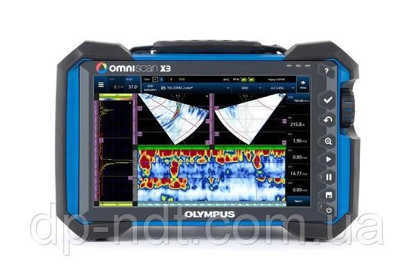 Ультразвуковой дефектоскоп Olympus OmniScan X3