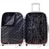 Комплект чемодан и кейс Bonro Smile большой желтый (10110302), фото 3