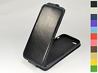 Откидной чехол из натуральной кожи для Apple iPhone 6 / 6S