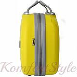 Комплект чемодан и кейс Bonro Smile большой желтый (10110302), фото 7
