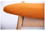 Стул обеденный Рикотта бук беленый/оранж, фото 5