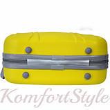 Комплект чемодан и кейс Bonro Smile большой желтый (10110302), фото 8