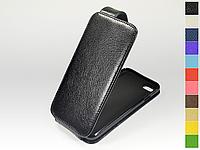 Откидной чехол из натуральной кожи для Apple iPhone 7 /iPhone 8