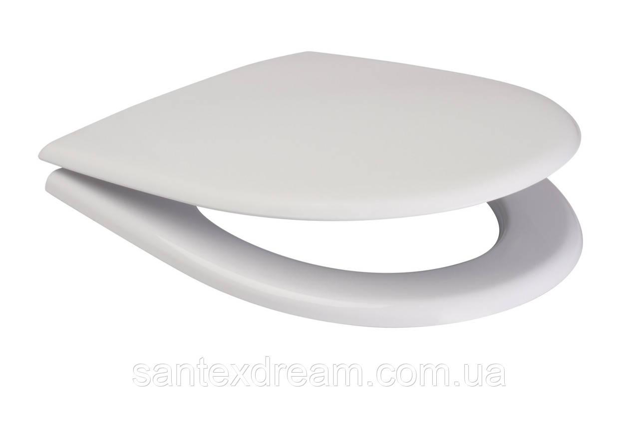Сиденье для унитаза EKO из дюропласт антибактериальное