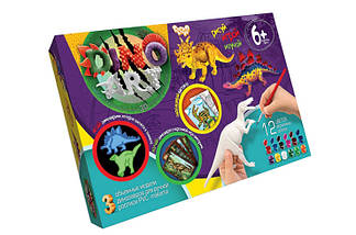 "Комплект креативного творчества ""Dino Art"" 6257, фото 3"