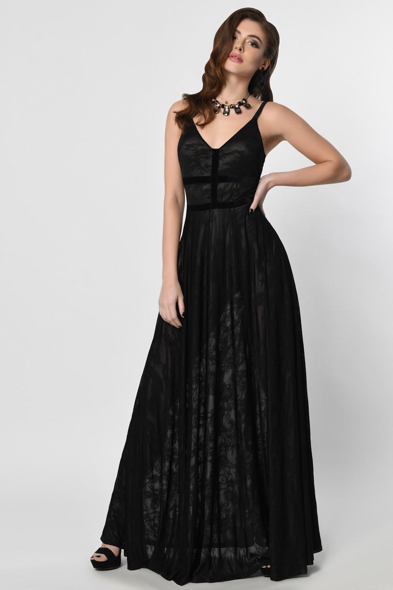 Красивое вечернее платье в пол