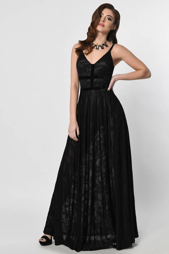 Красивое вечернее платье в пол, фото 2