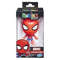 Головоломка Кубик Рубик 2x2: «Человек-паук» Rubik's Crew 2x2 Puzzlehead: Marvel Spider-Man Edition Hasbro E0821