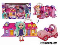 Домик для кукол с аксессуарами и куклой