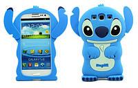 """SAMSUNG i9300/i9300i NEO DUOS противоударный силиконовый SOFT 3D TPU чехол бампер для телефона """"STICH"""""""