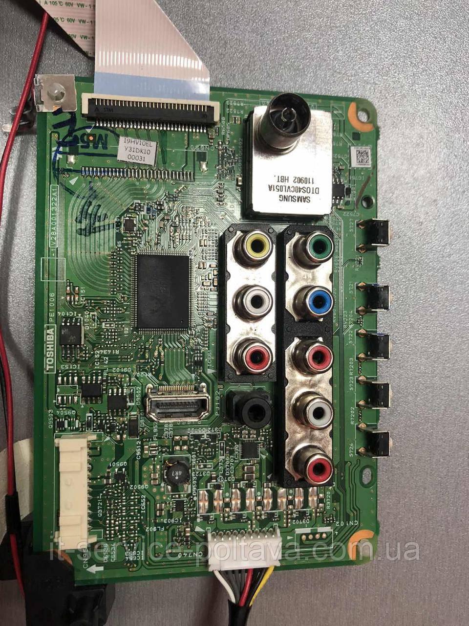 Main-Board Tohiba V28A001322A1