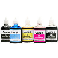 Комплект чернил INCOLOR 5x100 ml (BP/BL/C/M/Y) для: Canon PIXMA MP800