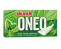 Жевательная резинка ONEO SLIMS STICK Ulker УПАКОВКА (18 шт) пластинка жвачка со вкусом зелёная мята, 27 гр