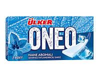 Жевательная резинка ONEO SLIMS STICK Ulker УПАКОВКА (18 шт) пластинка жвачка со вкусом зимняя мята, 27 гр