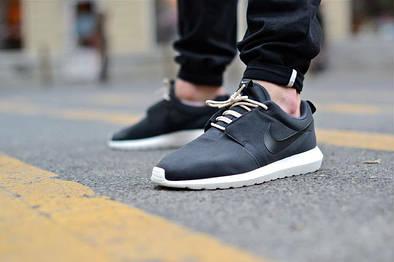 "Мужские кроссовки Nike Roshe Run  NM ""Black"""