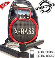 Беспроводная Bluetooth колонка X-BASS Golon RX-820 BT со светомузыкой и микрофоном