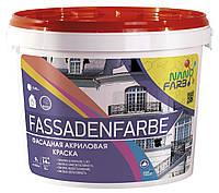 Акрилова фасадна фарба Fassadenfarbe Nano farb 14 кг