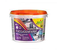 Акрилова фасадна фарба Fassadenfarbe Nano farb 4.2 кг