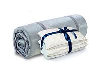 Топпер Дормео Ролл Ап зелёный чай +одеяло+подушка 200х100