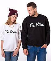 Парные свитшоты. Регланы. Парные свитшоты. Толстовки для влюбленных. King and Queen