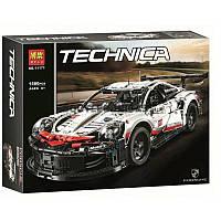 """Конструктор Bela 11171 """"Porsche 911 RSR"""" (аналог Lego Technic 42096), 1580 дет, фото 1"""