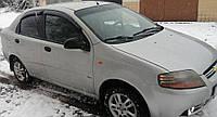 Дефлекторы окон Chevrolet Aveo sedan 2003-2006 VL-Tuning Ветровики шевроле авео
