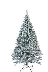 Ель искуственная Президентская заснеженая новогодняя 1,5 м высокого качества ,материал иголок не горит