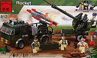 Конструктор BRICK 812 Ракетница, развивающая игрушка, подарок для ребенка