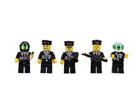 Конструктор BRICK 110 полицейский участок, развивающая игрушка, подарок для ребенка, фото 2