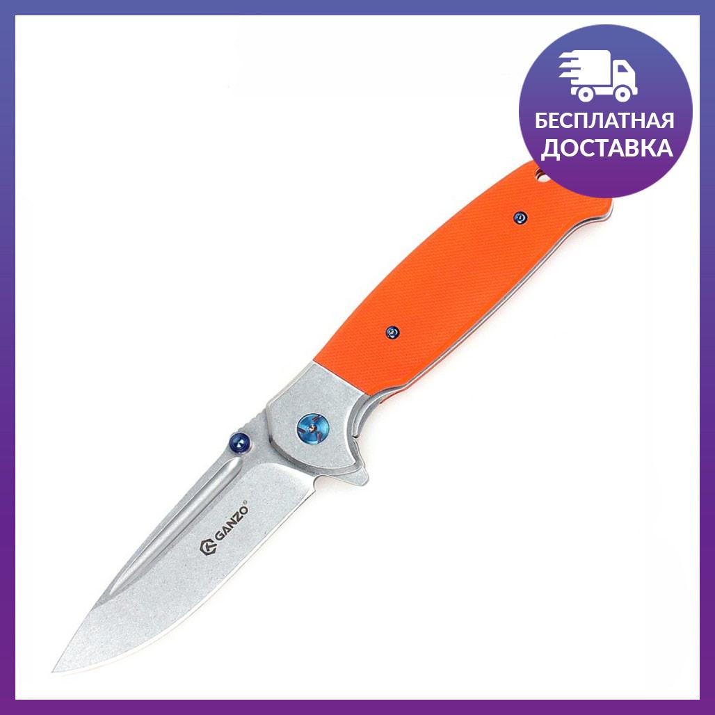 Нож Ganzo G7522 (оранжевый)