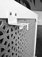 Кронштейны (крепления) для декоративных решеток на стальные радиаторы отопления, комплект