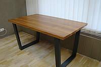 Стіл в стилі Лофт із дерева та металу