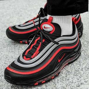 Nike Air Max 97 Black Red Silver 921826 014
