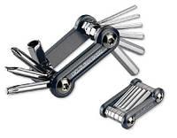 Набор шестигран. EXUSTAR E-T17 (8/6/5/4/3/2,5/2 мм) 10 функций (в т.ч ключТ25) черный.
